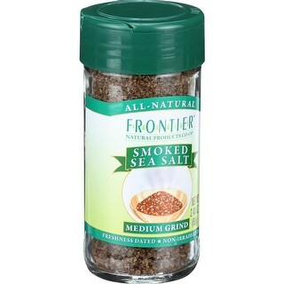 Frontier Herb - Smoked Ground Sea Salt ( 2 - 2.4 OZ)
