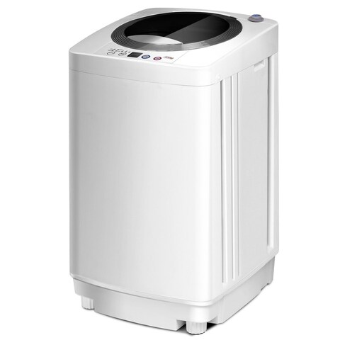 Full-Automatic Laundry Wash Machine1.6 Cu.ft. Washer/Spinner W/Drain Pump