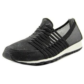 Easy Spirit Lehni Women Round Toe Synthetic Black Walking Shoe