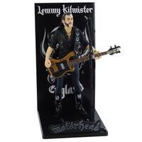 Motorhead Lemmy Kilmister Deluxe Figure Guitar Black Pickguard - multi