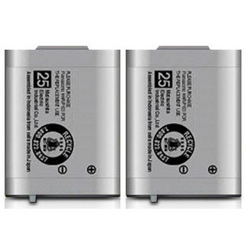 Replacement Panasonic KX-TG2383S NiMH Cordless Phone Battery (2 Pack)