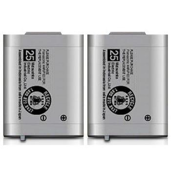 Replacement Battery For Panasonic KX-TG2352S / KX-TGA230 Phone Models (2 Pack)