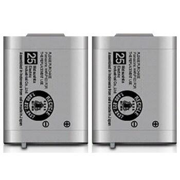 Replacement Panasonic KX-TG2382B NiMH Cordless Phone Battery (2 Pack)