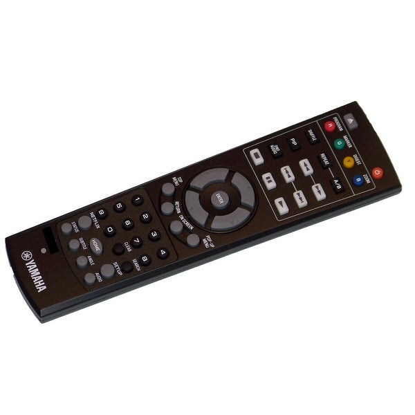 OEM Yamaha Remote Control Originally Shipped With: BD-S473, BDS473