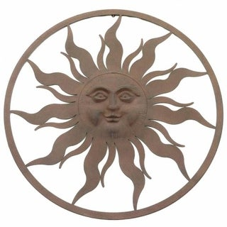 37.5 in. Sun with Circle Frame