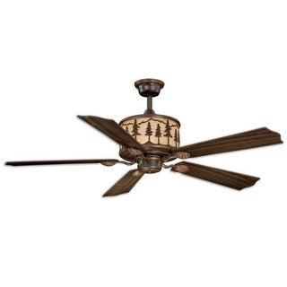 "Vaxcel Lighting F0011 Yosemite 56"" 5 Blade Indoor Ceiling Fan - Remote Control and Fan Blades Included"