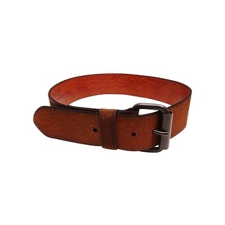 Polo Ralph Lauren Women's Distressed Roller Leather Belt