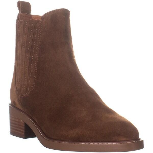Shop COACH Bowery Bootie Chelsea Boots, Cognac 11 US On