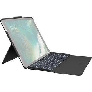 """Logitech 920-008432 12.9"""" Slim Combo Keyboard Case For Apple Ipad Pro - Black"""