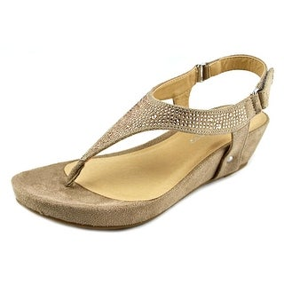CL By Laundry Nice Day Open Toe Synthetic Wedge Sandal