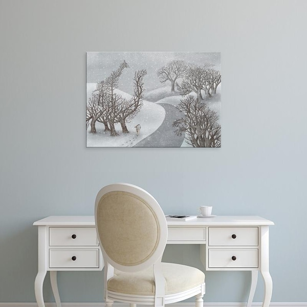 Easy Art Prints Terry Fan's 'Winter Park' Premium Canvas Art