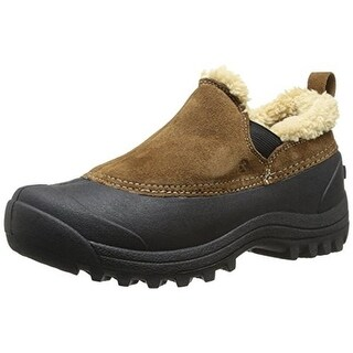 Northside Womens Kayla Suede Faux Fur Lined Casual Shoes