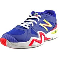 New Balance wC1296 Women  Round Toe Synthetic Blue Tennis Shoe
