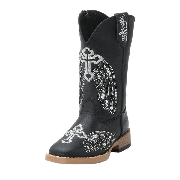 14e5e184916 Blazin Roxx Western Boots Girls Kids Gracie Cross Wings Child