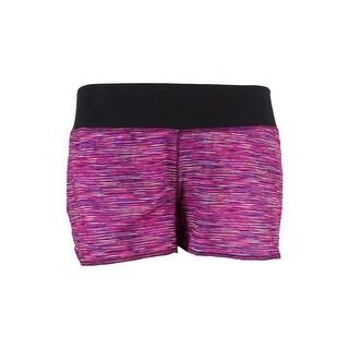 Ideology Women's Space-Dye Speed Shorts