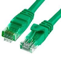 Cat6 500MHz UTP Ethernet LAN Network Cable - 1.5 Feet Green