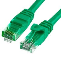 Cat6 500MHz UTP Ethernet LAN Network Cable - 75 Feet Green