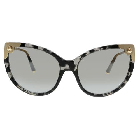 Dolce & Gabbana DG4337 31726V Havana Grey Cat Eye Sunglasses - No Size