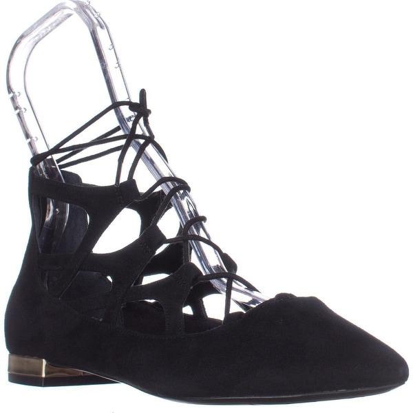 Rockport Adelyn Ghillie Lace Up Sandals, Black