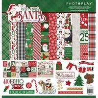 """Photoplay Collection Pack 12""""X12""""-Here Comes Santa"""