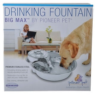 Pioneer Big Max Stainless Steel Drinking Fountain 128 oz