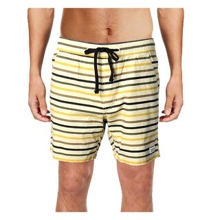 BANKS JOURNAL Mens Buddy Short Striped Board Shorts - 30