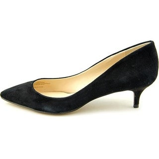 INC International Concepts Womens Danne Leather Pointed Toe Classic Pumps
