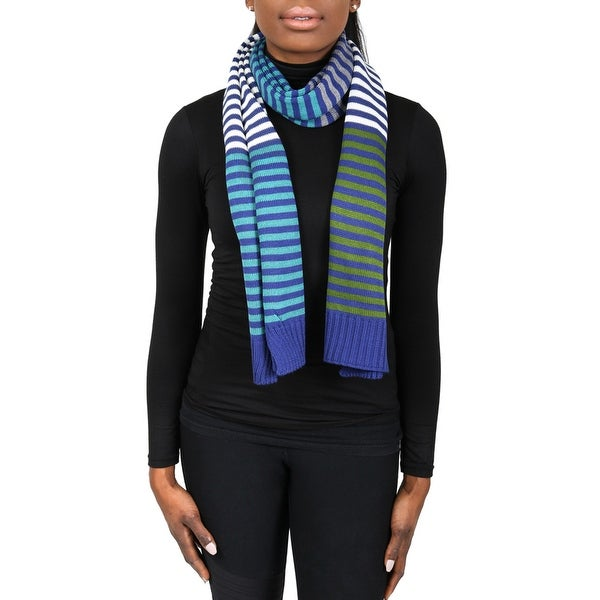 Missoni SC12WOU5203 0002 Multicolor 100% Wool Womens Scarf - 15 - 68