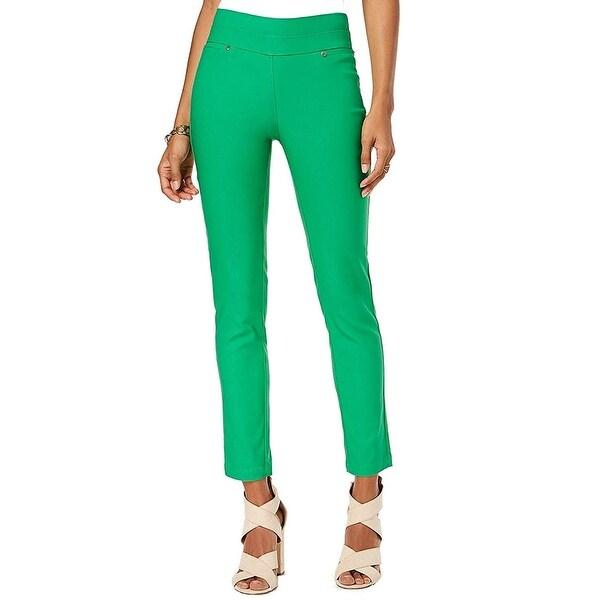 XOXO Bright Women's Pull-On Straight Skinny Pants