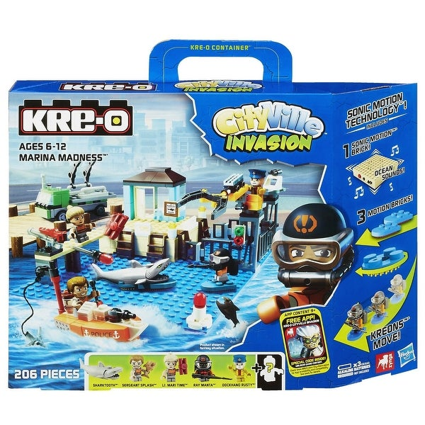 KRE-O CityVille Invasion Marina Madness Set (A3249)