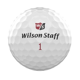 Wilson Staff Duo Soft Golf Balls (White, 12 Pack)