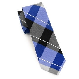 Men's Blue, Black, Grey Tie