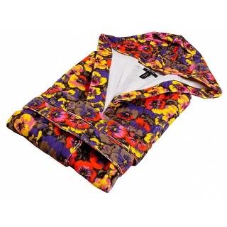 Versace VD A8574 002 Multicolor Hooded Sleeveles Bathrobe
