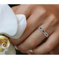 Prism Jewel 0.10Ct Round Natural Brown Color Diamond Wedding Band