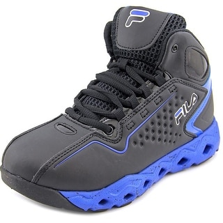 Fila Big Bang 3 Ventilated Youth Round Toe Synthetic Black Basketball Shoe