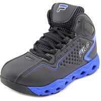 Fila Big Bang 3 Ventilated Youth  Round Toe Synthetic Black Basketball Shoe