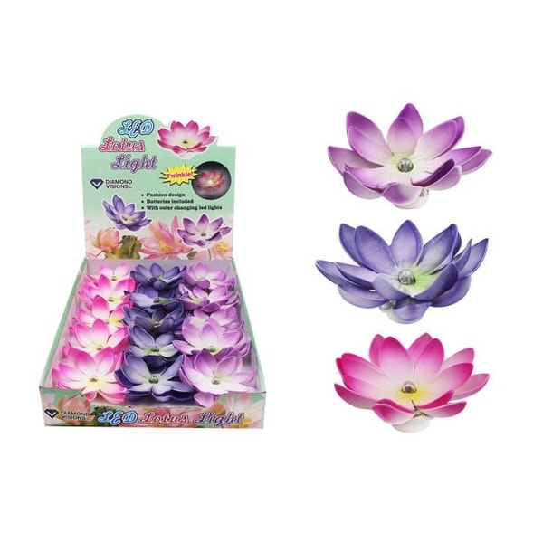 LED Lotus Flower - 15 Units