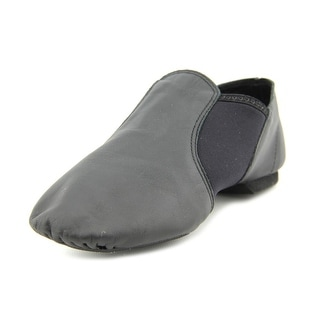 Capezio E Series Slip On Jazz Round Toe Leather Dance