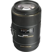 Sigma 105mm f/2.8 EX DG OS HSM Macro Lens for Canon EOS Cameras (Open Box)