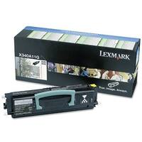 Lexmark X340A11G Black High Yield Toner Cartridge For X342n / X340n - 2500 Pages
