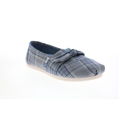 Toms Alpargata Citadel Blue Womens Loafer Flats