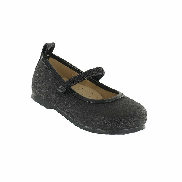 Cookie Smoochie 'Bree' Glitter Mary Jane Flat with Comfort Sole