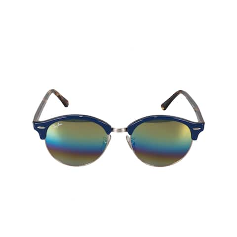 a73a5f3ee7e92 Ray-Ban Clubround Mineral Flash Lens Sunglasses RB4246-F 1223C4 53