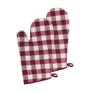 Link to Buffalo Check Oven Mitts - 7-in x 13-in - Set of Two - 7x13 Similar Items in Cooking Essentials