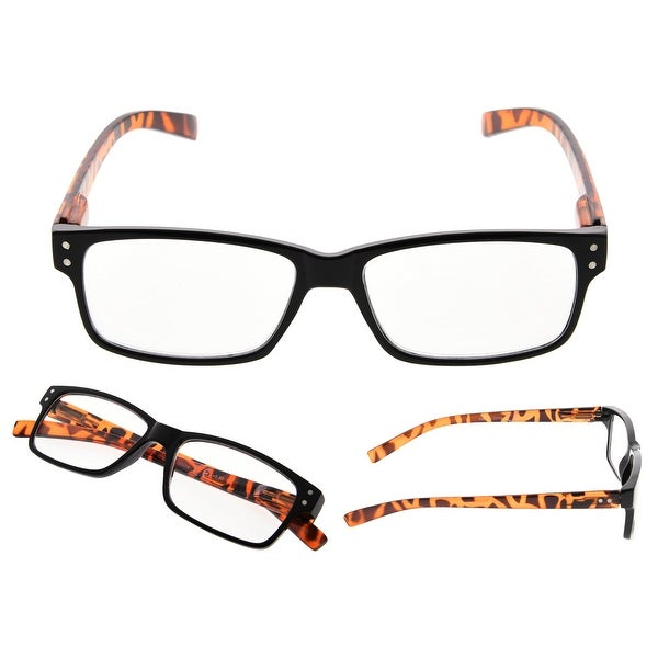 READING GLASSES 5 pack Round Retro Include Sunshine Readers