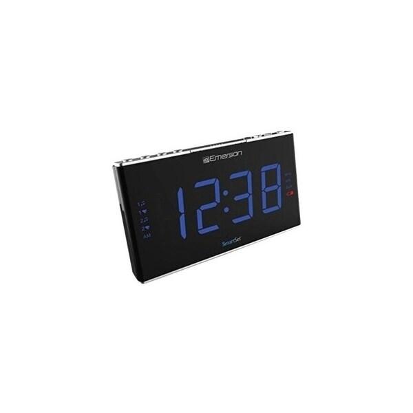 Emerson radio corp. er100105 smartset pll radio alarm clock. Opens flyout.