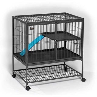 """Midwest Ferret Nation Single Unit Cage Gray 36"""" x 25"""" x 38.5"""""""