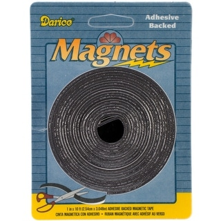 "Adhesive Magnetic Tape-1""X120"""