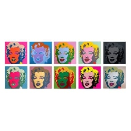 Marilyn Monroe Suite by Andy Warhol Silkscreen Pop Art Print