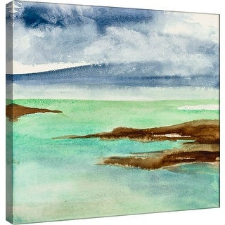 "PTM Images 9-100974  PTM Canvas Collection 12"" x 12"" - ""Shore II"" Giclee Coastlines Art Print on Canvas"